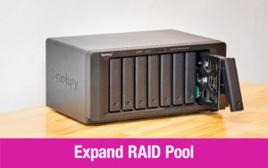 Expanding RAID Pool on Synology NAS Thumbnail